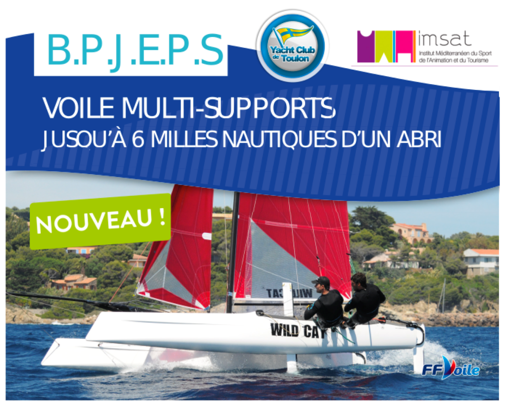 Formation Bpjeps Multi Supports Voile Sud